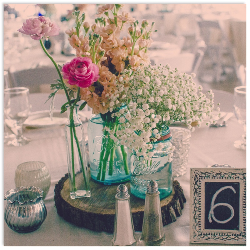 Diy day mason jar centerpieces planning co